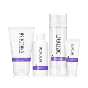 Brand New Unblemish 4 Step Skin Regimen
